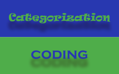 Categorization and Coding